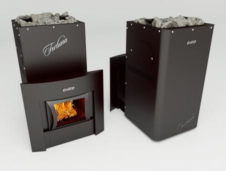 Grill'D Fortuna 280 window black